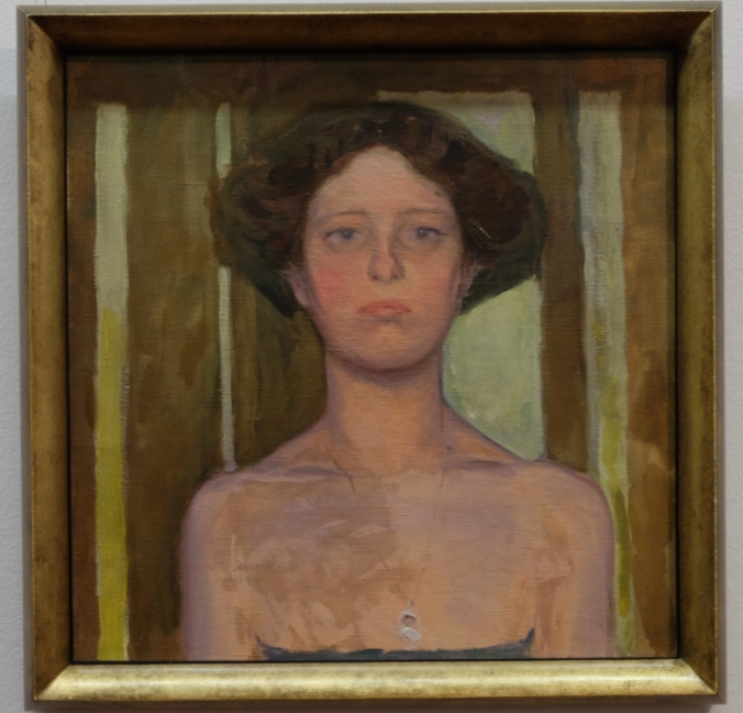 Girl with Necklace by Koloman Moser