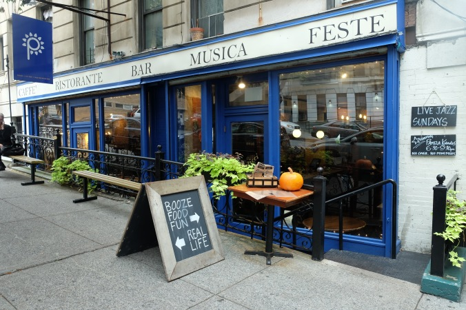 A great Italian place with fresh pasta, excellent cocktails, and live music.