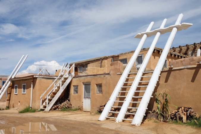 Homes in Acoma Pueblo
